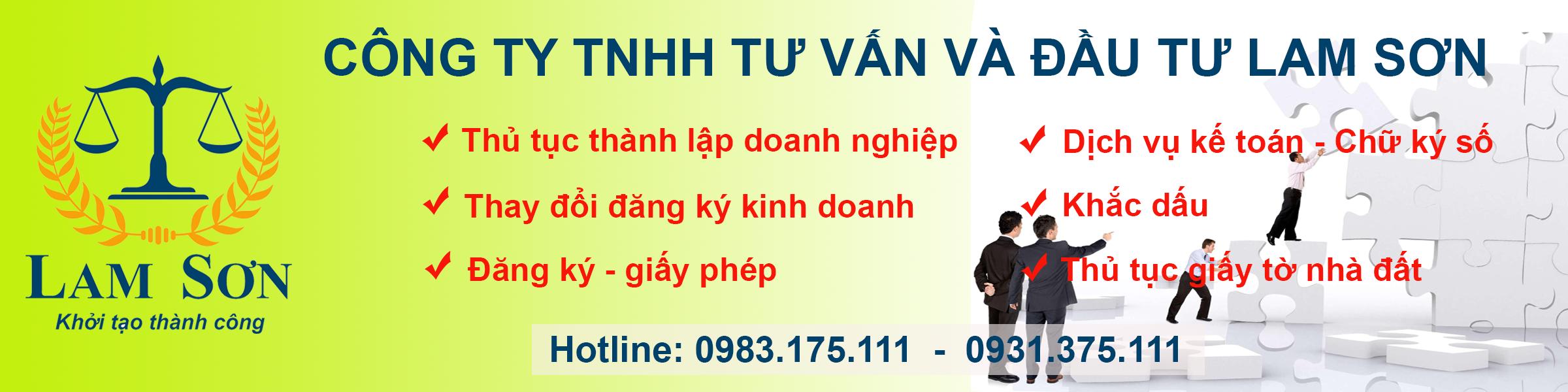 Làm thủ tục dịch vụ tại Thanh Hóa